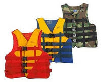 Спасательный жилет BICOLOR Салатовый , товары для спасения на воде, безопасность