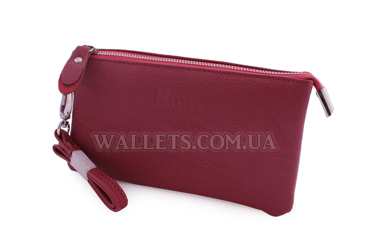 Женский кошелек BALISA темно-розовый на молнии