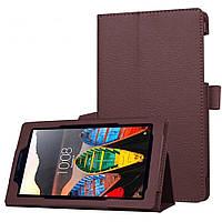Чехол Lenovo TAB3-710 / TAB3-710i / TAB3-710L / TB3-710f essential 7.0'' книжка коричневый