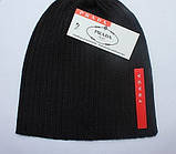 Разные цвета PRADA шапки вязаные для взрослых и подростков шапка хлопок прада, фото 2