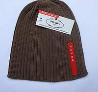 Разные цвета PRADA шапки вязаные для взрослых и подростков шапка хлопок прада, фото 1