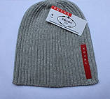 Разные цвета PRADA шапки вязаные для взрослых и подростков шапка хлопок прада, фото 3