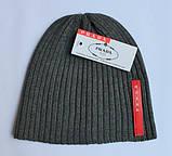 Разные цвета PRADA шапки вязаные для взрослых и подростков шапка хлопок прада, фото 5