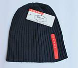 Разные цвета PRADA шапки вязаные для взрослых и подростков шапка хлопок прада, фото 7