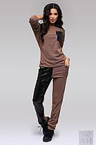 А1272 Спортивный костюм с пайетками , фото 3