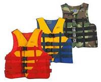 Спасательный жилет BICOLOR M, ЧЕРНЫЙ, товары для спасения на воде, безопасность