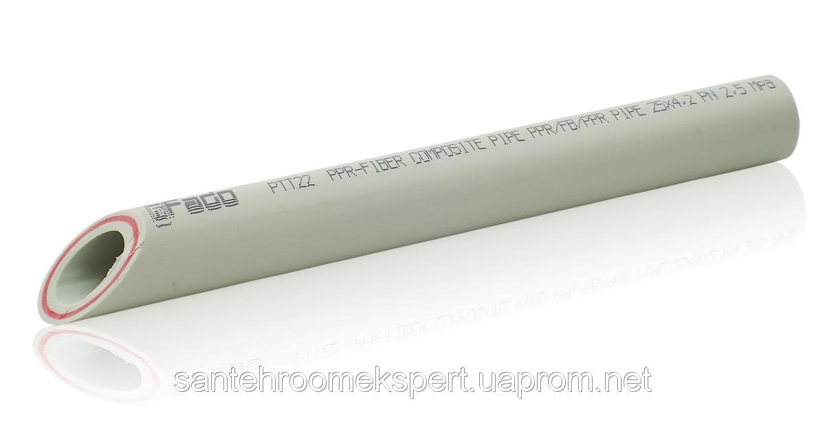 PPR FIBER Труба со стекловолокном FADO 63х10,5 (Italy), ВЕТРИНА