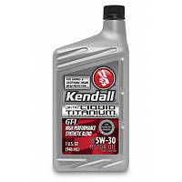 Полусинтетическое моторное масло KENDALL  GT-1® 5w30 High Performance SyntheticBlend Motor Oil Liquid Titanium
