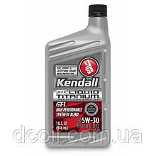 Моторное масло KENDALL  GT-1® 5w30 High Performance SyntheticBlend Motor Oil Liquid Titanium