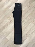 Джинсы женские зауженные Slim с завышенной посадкой чёрные Skinny большие размеры Lexus jeans