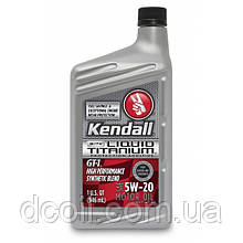 Моторное масло KENDALL  GT-1® 5w20 High Performance SyntheticBlend Motor Oil Liquid Titanium