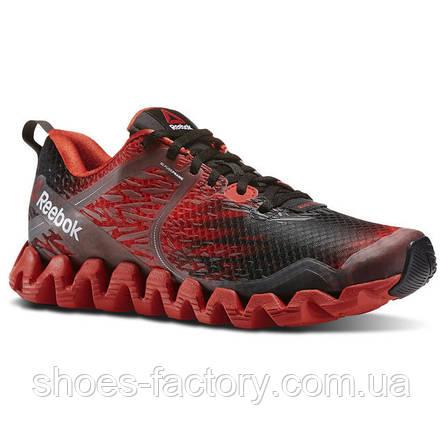 Беговые кроссовки Reebok Zig Squared Cruz, V72070 (Оригинал), фото 2