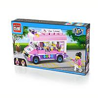 """Конструктор Brick 1112 """"Машина- Мороженное"""",  213 деталей"""