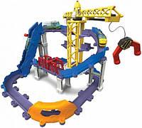 Игровая железная дорога Tomy Chuggington Приключения Брюстера на строительной площадке (LC54241)