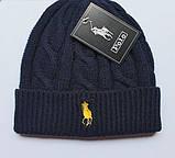 В стиле Ральф поло шапки вязаные для взрослых и подростков шапка хлопок ралф, фото 2