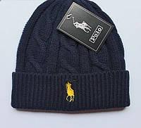 Разные цвета RALPH LAUREN шапки вязаные для взрослых и подростков шапка хлопок ралф лорен, фото 1