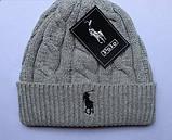 В стиле Ральф поло шапки вязаные для взрослых и подростков шапка хлопок ралф, фото 3