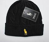В стиле Ральф поло шапки вязаные для взрослых и подростков шапка хлопок ралф, фото 4