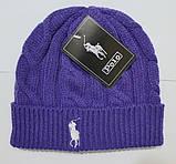 В стиле Ральф поло шапки вязаные для взрослых и подростков шапка хлопок ралф, фото 6