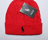 В стиле Ральф поло шапки вязаные для взрослых и подростков шапка хлопок ралф, фото 7