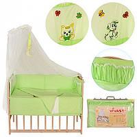 Детское постельное белье М V-640 Green @ Дитяче постільна білизна М V-640 Green