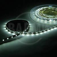 Гибкая светодиодная лента, SMD2835, цвет белый хол., 60 св./м, 4.8 Вт/м, без влагозащиты, M-TEK