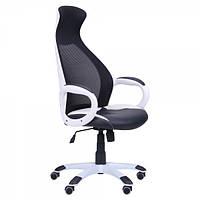 Кресло Cobra, сиденье Неаполь/спинка Сетка черная