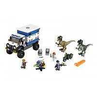 LEGO Jurassic World Гнев Раптора Raptor Rampage 75917