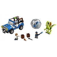 LEGO Jurassic World Засада для Дилофозавра Dilophosaurus Ambush 75916
