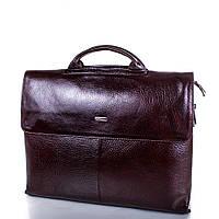 Мужской кожаный портфель с отделением для ноутбука Desisan (Десисан)