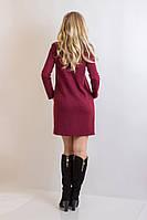Женское трикотажное платье Модные накладные карманы делают эту модель особенно практичной и функцион