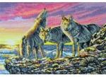 "Набор для вышивания ""Охота на рассвете (Dawn Hunt)"" ANCHOR MAIA"