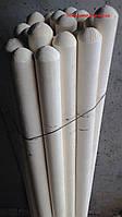 Черенок/держак/ на лопату высший сорт диаметр 40мм длина 1,2 метра