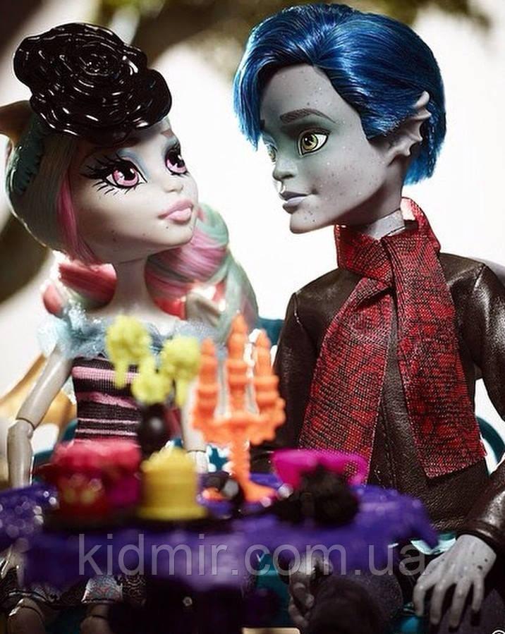 Набор кукол Monster High Рошель Гойл и Гаррот ДюРок Любовь в Скариже