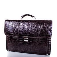 Мужской кожаный портфель Desisan (Десисан)