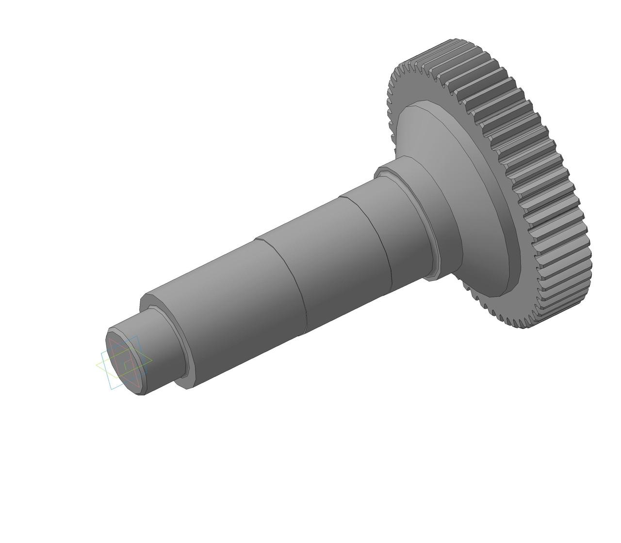 Зубчатая муфта м6 z56 редуктора РМ650