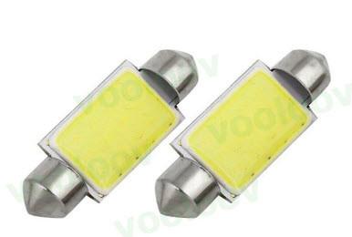 Светодиодная лампа для салона авто 0.9 w супер яркая 41 мм C5W