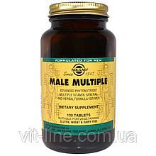 Витамины для мужчин Solgar, Male Multiple, 120 Tаблеток
