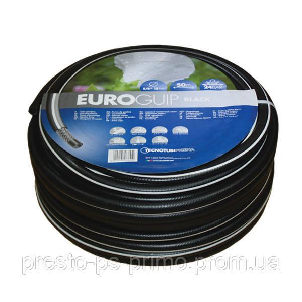 Шланг поливочный Euro Black 1д  25м Tecnotubi Италия