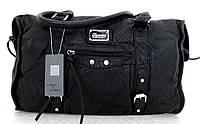 Стильная женская сумка. Эко-кожа. Черная, фото 1