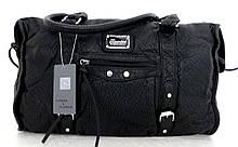 Стильная женская сумка. Эко-кожа. Черная