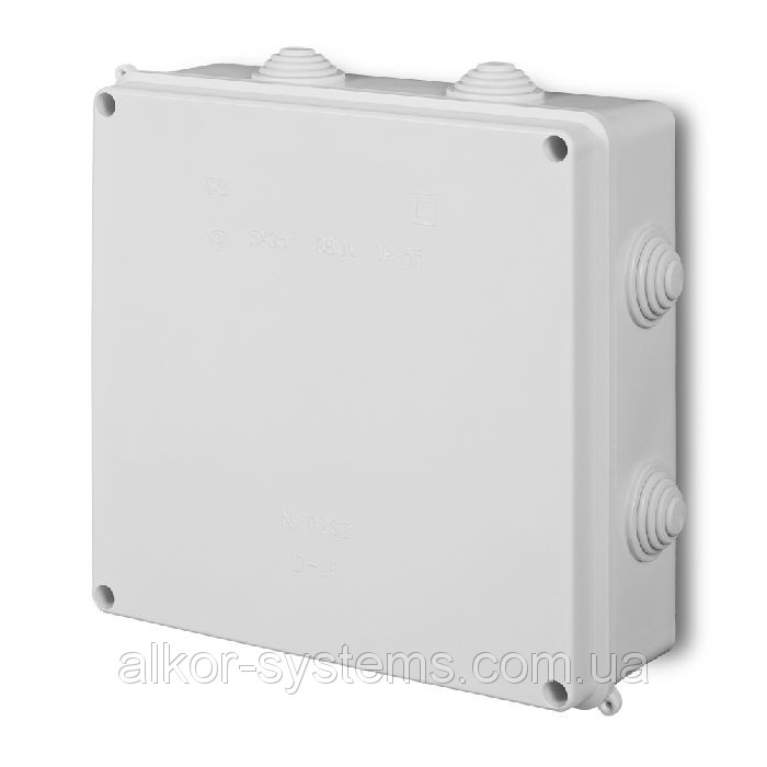 Распределительная коробка, наружная, IP54, 100x100x50мм