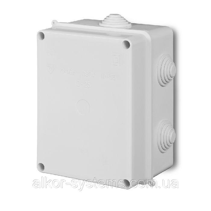 Распределительная коробка, наружная, IP54, 120x80x50мм