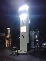 Светодиодное освещение ТРК на АЗС