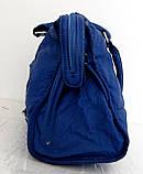 Стильная женская сумка. Эко-кожа. Синяя, фото 3