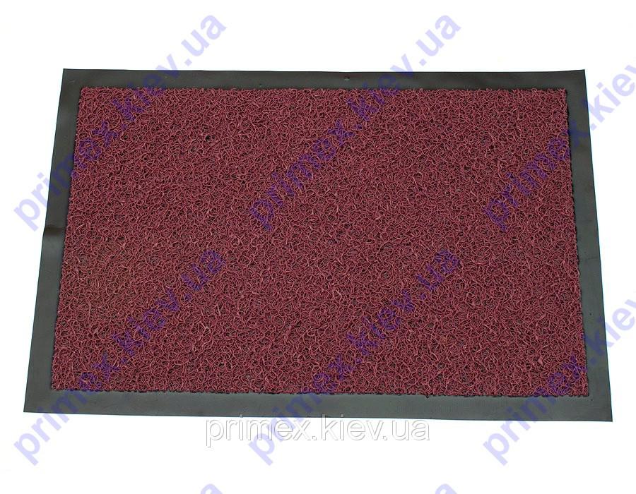 Коврик грязезащитный Петлевой 40х60см. цвет красный. Придверный коврик купить