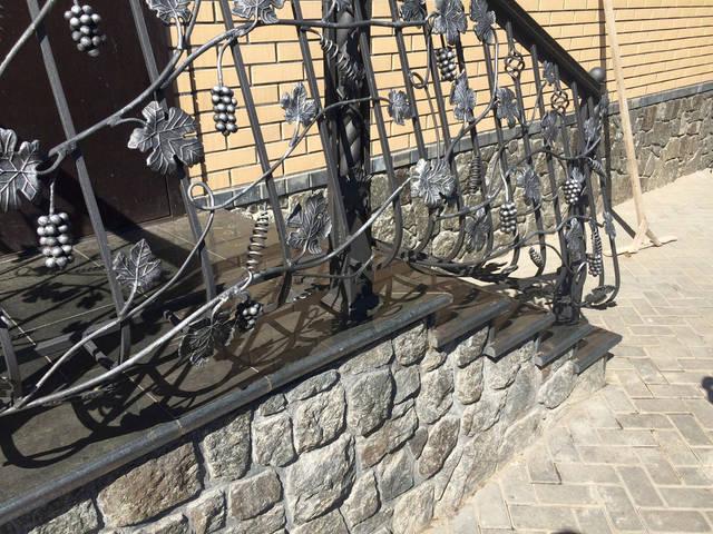 Пять крылечек из гранита (Красноармейск) 19