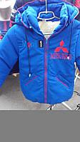 Детская курточка на меху(зима)