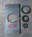 Плита чавунна одноконфорочная (320х620 мм) печі, барбекю, мангал, фото 2