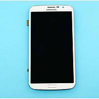 Дисплей для Samsung i9200 Galaxy Mega 6.3/i9205 + touchscreen, белый, с передней панелью